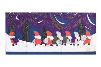 北欧クリスマスタペストリー/Jerry Roupe/ジェリー ロウプ/トムテ森のプレゼント/新品