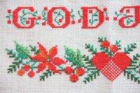 クリスマス北欧雑貨/スウェーデン製/クリスマスタペストリー