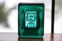 ErikHoglund/エリックホグラン/ガラスヒト/アッシュトレー/グリーン