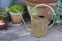 スウェーデン/ブラス(真鍮)のヴィンテージ水差し/細口ジョーロ