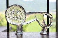 Kosta Boda コスタボダ ガラスのオブジェ ライオン 超特大サイズ