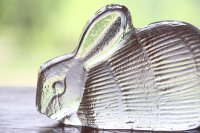 スウェーデン/Royal Krona/ガラスのウサギ/リサ・ラーソン/ビンテージ