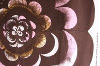 北欧ヴィンテージテキスタイル merimekkoマリメッコ1968年PIMPINELLA ピンク