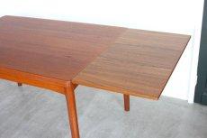 画像7: 北欧家具/ヴィンテージ/デンマーク製 /Henning Kjærnulf/ダイニングテーブル/チーク (7)