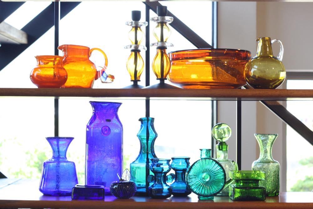 ビンテージ北欧ガラス