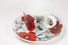 画像4: 北欧ビンテージ食器/ARABIA/アラビア/Isokukka/イソクッカ/コーヒーカップ&ソーサー (4)