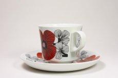 画像2: 北欧ビンテージ食器/ARABIA/アラビア/Isokukka/イソクッカ/コーヒーカップ&ソーサー (2)