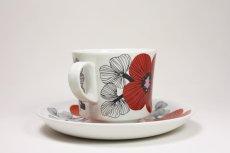 画像5: 北欧ビンテージ食器/ARABIA/アラビア/Isokukka/イソクッカ/コーヒーカップ&ソーサー (5)