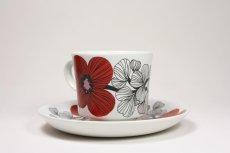 画像3: 北欧ビンテージ食器/ARABIA/アラビア/Isokukka/イソクッカ/コーヒーカップ&ソーサー (3)