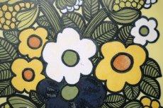 画像3: ARABIA/アラビア/ライヤ・ウオシッキネン/レア陶板/花 (3)
