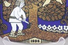 画像2: ARABIA/アラビア/Kalevala/イヤープレート/1995年  (2)