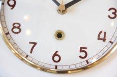 画像2: ビンテージ陶製壁掛け時計/Diehl製/ドイツ/アイボリー (2)