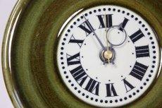 画像2: ビンテージ時計/Rorstrand/ロールストランド/壁製掛け時計/Marianne Westman/マリアンヌ・ウエストマン/グリーン/新ムーブメント使用  (2)