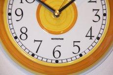 画像3: ビンテージ時計/Rorstrand/ロールストランド/壁掛け時計/サークル/イエロー (3)