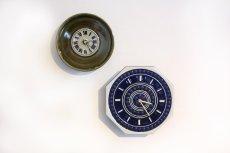 画像6: ビンテージ時計/Rorstrand/ロールストランド/壁製掛け時計/Marianne Westman/マリアンヌ・ウエストマン/グリーン/新ムーブメント使用  (6)