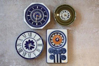 画像1: ビンテージ時計/Rorstrand/ロールストランド/陶製壁掛け時計/URBAN/新ムーブメント交換済み