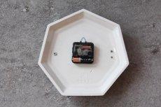 画像6: ビンテージ陶製壁掛け時計/Junghans/ドイツ/ペールグリーン (6)