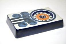 画像4: ビンテージ時計/Rorstrand/ロールストランド/陶製壁掛け時計/URBAN/新ムーブメント交換済み (4)