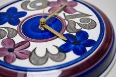 画像5: Rorstrand/ロールストランド/壁掛け時計/花&数字 (5)