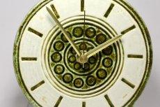 画像2: Gustavsberg/グスタフスベリ/ビンテージ時計/スタジオ製/置き時計/ペールグリーン/新品ムーブメント使用/超レア  (2)