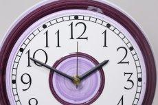画像2: Rorstrand/ロールストランド/ビンテージ時計/壁掛け時計/サークル/アメジスト/新品クォーツムーブメント使用 (2)