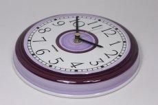 画像3: Rorstrand/ロールストランド/ビンテージ時計/壁掛け時計/サークル/アメジスト/新品クォーツムーブメント使用 (3)