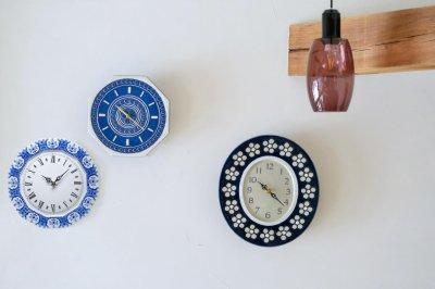 画像1: Rorstrand/ロールストランド/壁掛け時計/Sylvia Leuchovius/シルヴィア・レウショヴス/ 1975年貴重