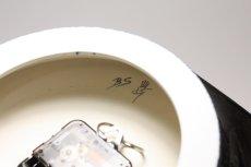 画像6: Gustavsberg/グスタフスベリ/スタジオ制作壁掛け時計/ネイビー/新品クロックムーブメント使用  (6)