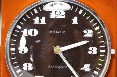 画像3: ビンテージ陶製壁掛け時計/KIENZLE製 /ドイツ/レンガ (3)