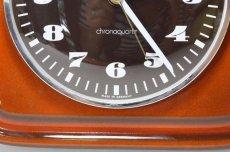 画像4: ビンテージ陶製壁掛け時計/KIENZLE製 /ドイツ/レンガ (4)