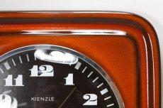 画像2: ビンテージ陶製壁掛け時計/KIENZLE製 /ドイツ/レンガ (2)