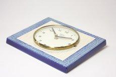 画像4: ビンテージ陶製壁掛け時計/Peter /ドイツ/ライトブルー (4)