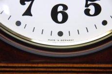 画像3: ビンテージ陶製壁掛け時計/Junghans製/ユンハンス/ドイツ/ブラウン (3)