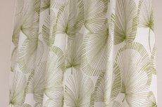 画像3: 北欧ヴィンテージテキスタイル グリーン植物柄  (3)