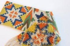 画像4: 北欧ビンテージ/スウェーデン/手織り物/雪結晶 (4)