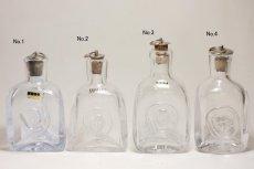 画像2: Erik Hoglundエリックホグラン  ガラス ミニボトル 顔 (2)