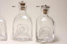 画像4: Erik Hoglundエリックホグラン  ガラス ミニボトル 顔 (4)