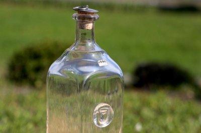 画像1: Erik Hoglundエリックホグラン  ガラス ロングボトル クリア 牛