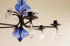 画像5: Erik Hoglundエリックホグラン BODA社製 ガラスキャンドル シャンデリア Lサイズ (5)