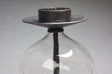 画像2: Erik Hoglundエリックホグラン BODA社製 ガラスキャンドルホルダー クリアー特大LLサイズ (2)