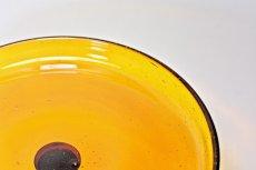 画像6: Erik Hoglund/エリックホグラン/気泡入り/高台皿/ケーキスタンド/アンバー (6)