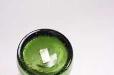 画像6: ErikHoglund/エリックホグラン/気泡入り/ボトル/オーナメント顔付き/グリーン (6)
