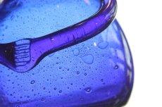 画像4: Erik Hoglund/エリックホグラン/ガラス/ひとがたボトル/ブルー/気泡入 (4)