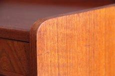 画像8: ビンテージ北欧家具/デンマーク製/3段チェスト/チーク (8)