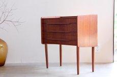 画像3: ビンテージ北欧家具/デンマーク製/3段チェスト/チーク (3)