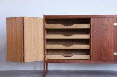 画像4: 北欧ビンテージ家具/ボーエ・モーエンセン/BM57 Cabinet/チークキャビネット/P. Lauritsen & Søn/1957年 (4)