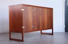 画像2: 北欧ビンテージ家具/ボーエ・モーエンセン/BM57 Cabinet/チークキャビネット/P. Lauritsen & Søn/1957年 (2)