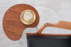 画像6: 北欧家具/ビーンズテーブル/サイドテーブル/チーク&オーク (6)