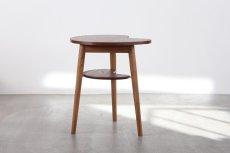画像3: 北欧家具/ビーンズテーブル/サイドテーブル/チーク&オーク (3)