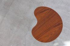 画像5: 北欧家具/ビーンズテーブル/サイドテーブル/チーク&オーク (5)